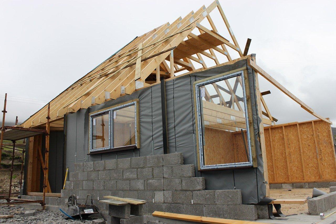 Stavba rodinného domu, rekonstrukce