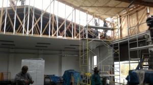 Nástavba výrobní haly Brno Chrlice
