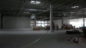 Výstavba nové prodejny UNI Hobby ve Starém Městě