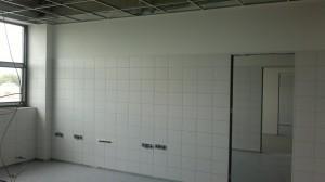 Výstavba nových laboratoří v areálu MND Lužice